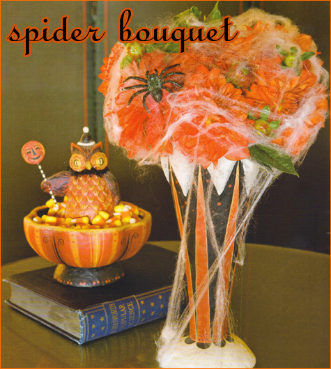 Spider Bouquet