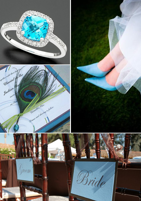 Wedding Inspiration: Something Blue