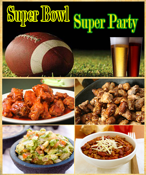 Entertaining Inspiration: Super Bowl Bash