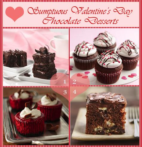 Valentine's Day Chocolate Desserts