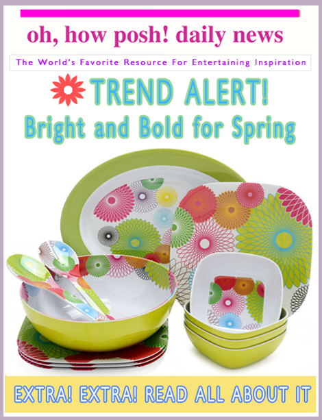 Trend Alert: Bright & Bold For Spring!