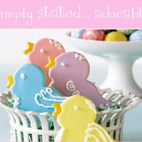 Easter Inspiration: Adorable Easter Sweet Treats