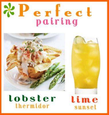 Cocktails: Smirnoff Lime Sunset