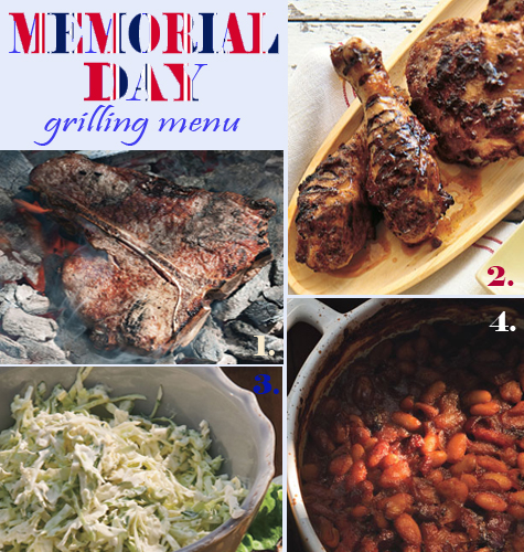 Entertaining Inspiration: The Best Memorial Day Grilling Menu