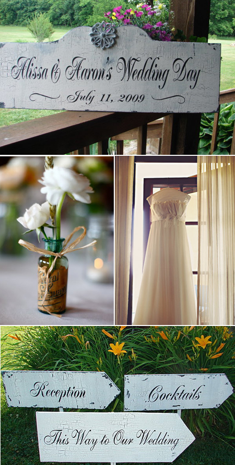 Wedding Inspiration - Vintage Style