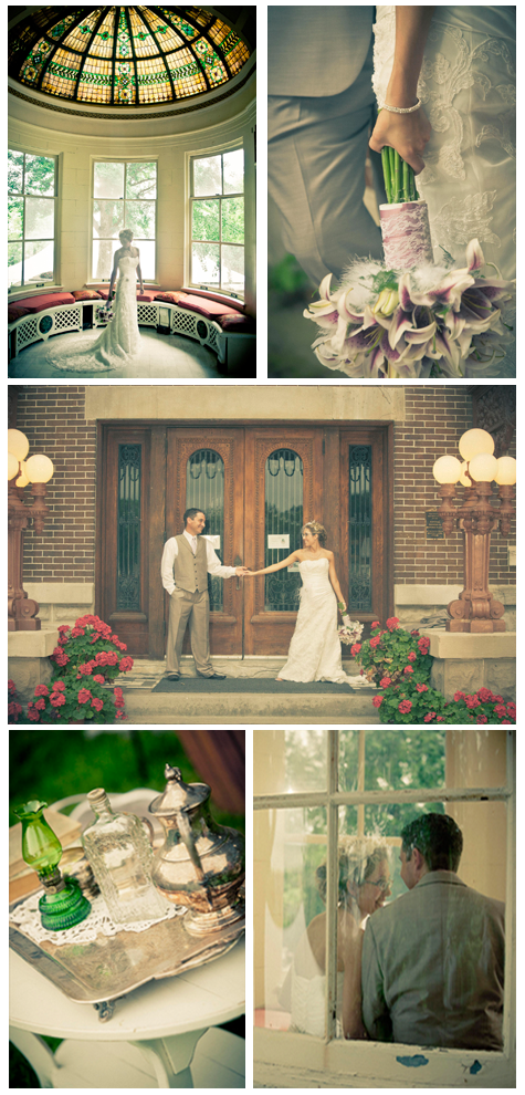 {Wedding Inspiration} A Vintage Affair - Andrea & Dave