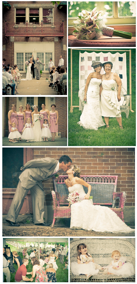{Wedding Inspiration} A Vintage Affair – Andrea & Dave