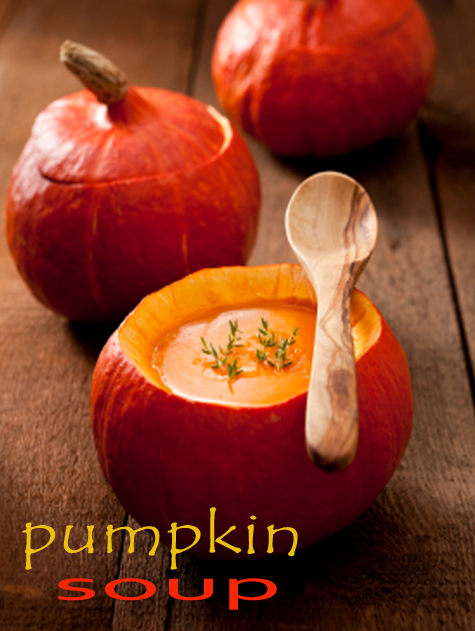 Recipes: Creamy Pumpkin Soup