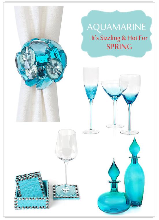 {Trend Alert} Spring's Hot New Hue: Aquamarine