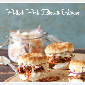 Pulled Pork Biscuit Sliders