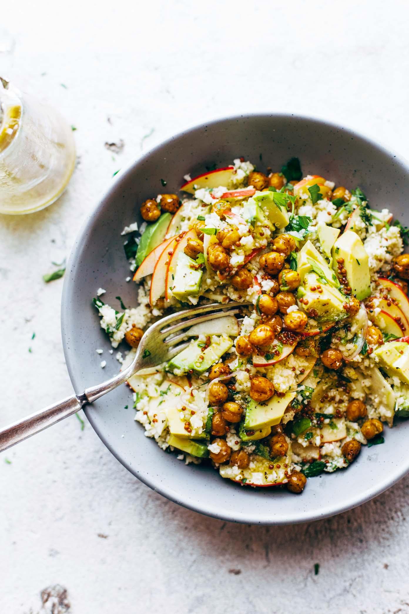 Spring Detox Cauliflower Salad