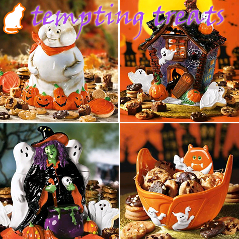 Halloween Treats & Cookie Jars