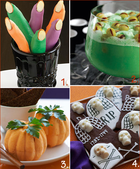 Halloween Creepy & Sweet Treats