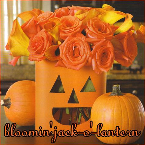 Bloomin' Jack -o'- Lantern