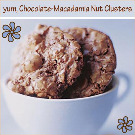 Chocolate Macadamia Nut Clusters