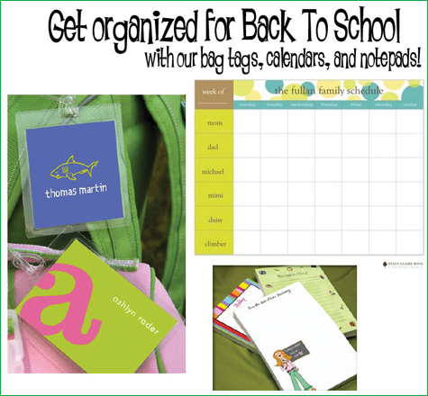 Busy Bee Paperie: Back To School