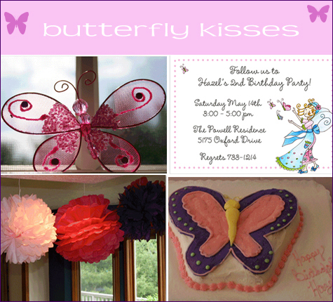 Real Posh Parties: Butterfly Kisses
