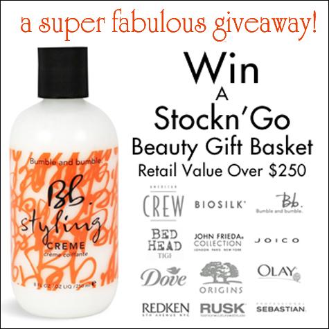 Stockn' Go Beauty Gift Basket