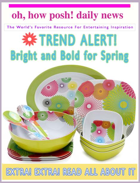 Trend Alert: Bright & Bold For Spring!