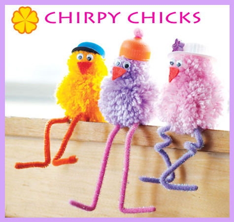 DIY Easter Inspiration: Chripy Chicks
