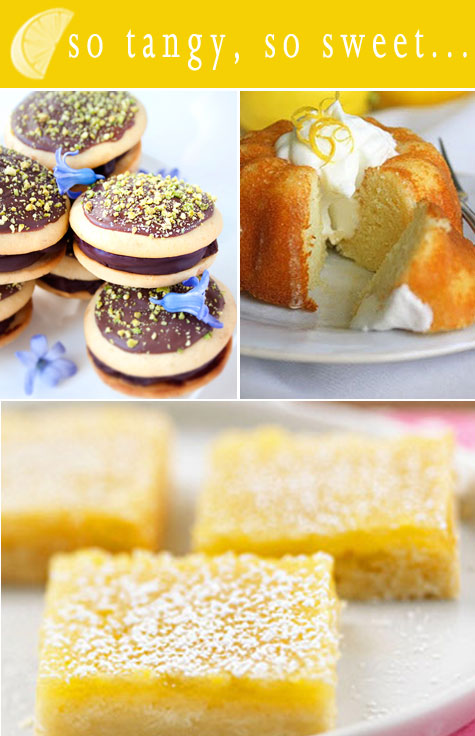 Top 5 Zesty Lemon Desserts for Spring!