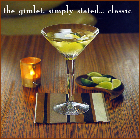 Entertaining Inspiration: Drink of the week: The Gimlet