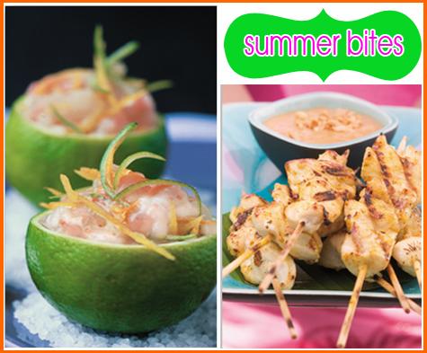 Entertaining Inspiration: Serving up SUMMER! Summer Bites