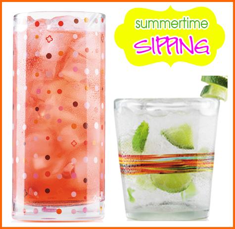 Entertaining Inspiration: Serving up SUMMER! - Cocktails