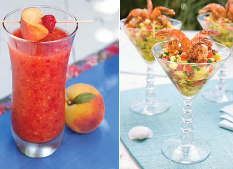 Weekend Entertaining Inspiration: Tropical Summer Escape