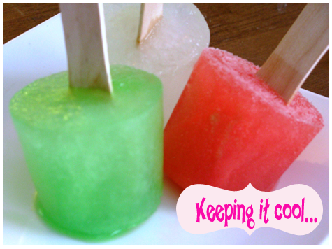 Entertaining Inspiration: DIY Summer Frozen Treats