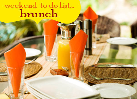 Weekend Entertaining Inspiration: Simple & Easy Brunch