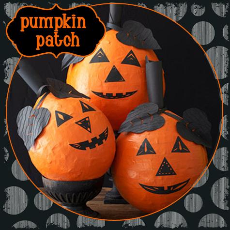 DIY Craft: Papier Mache Pumpkins