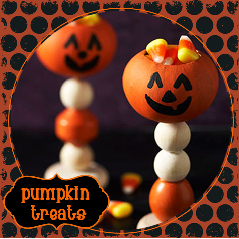 DIY: Adorable Pumpkin Treat Holders