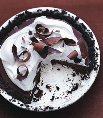 Bittersweet Chocolate Pudding Pie