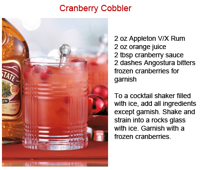 {Holiday Cheers} Guide To The Best Thanksgiving Cocktails: Cranberry Cobbler