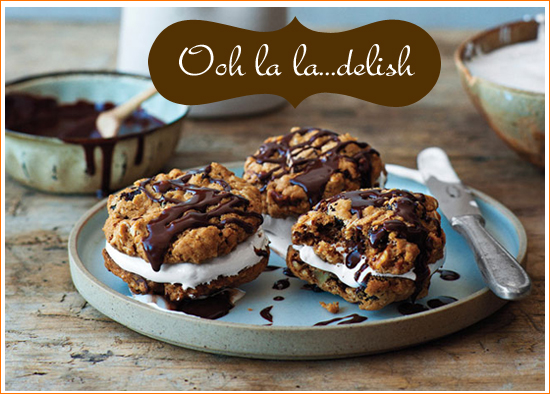 {Recipes} Chocolate-Oatmeal Moon Pies