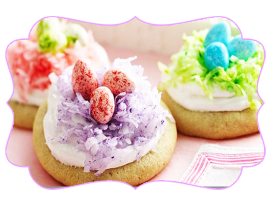 Easter Inspiration: Easter Nest Cookies