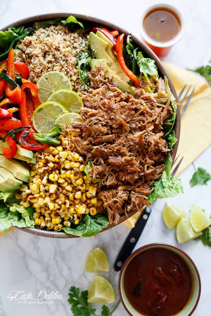 Chipotle Lime Carnitas Salad