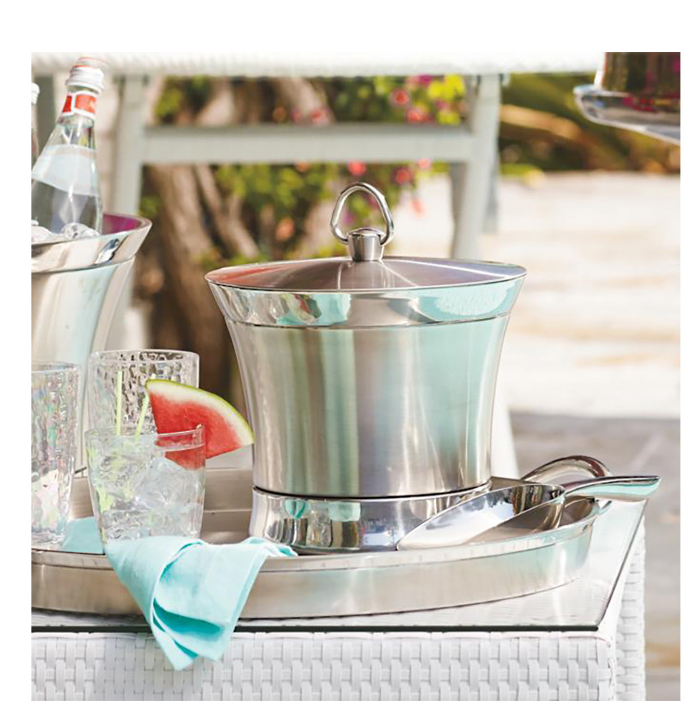 5 Summer Bar Cart Essentials -Optima-Ice-Bucket