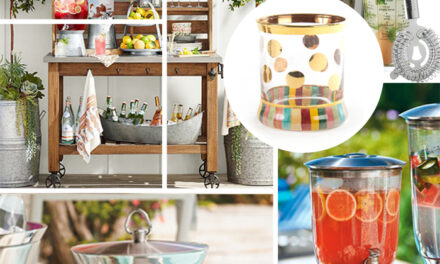 5 Summer Bar Cart Essentials