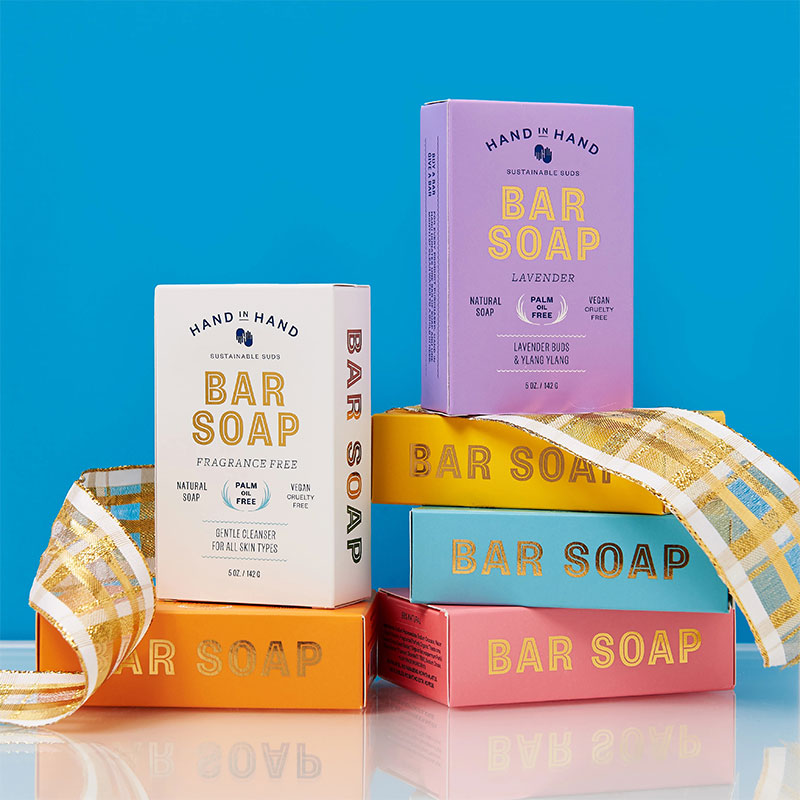 We Love Hand in Hand Bar Soap | The Posh Guide