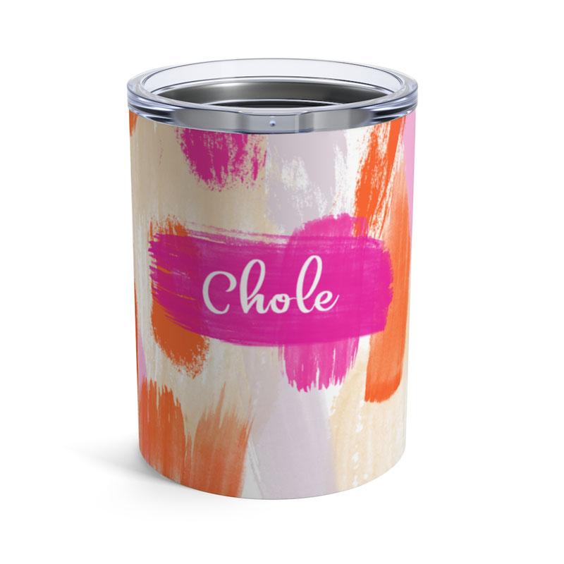 We Love Posh Paper Ink Sunrise Brush Stroke Tumbler | The Posh Guide