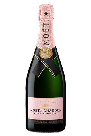 Moet & Chandon Rosé Imperial | Best Champagne Bottles for New Years