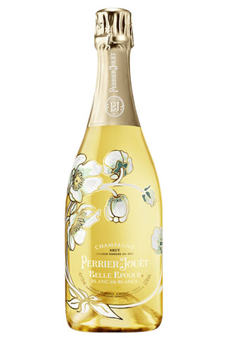 Perrier-Jouët Belle Epoque Blanc de Blancs | Best Champagne Bottles for New Years