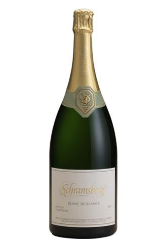 Schramsberg Vineyards Blanc de Blancs | Best Champagne Bottles for New Years