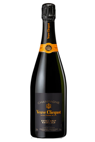 Veuve Clicquot Extra Brut | Best Champagne Bottles for New Years