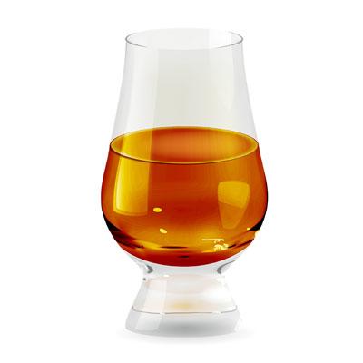 Virtual Whiskey Tasting Glencairn glasses - The Posh Guide