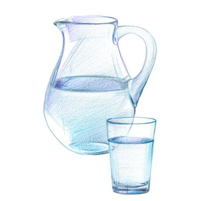 Virtual Whiskey Tasting Water- The Posh Guide