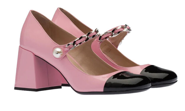STYLE ESSENTIAL : PATENT LEATHER PUMPS