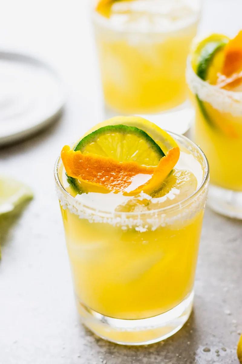 The 5 Best Citrus Cocktails to Make This Spring -Triple Citrus Margarita